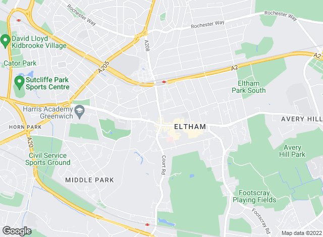 Map for YOUR MOVE, Eltham
