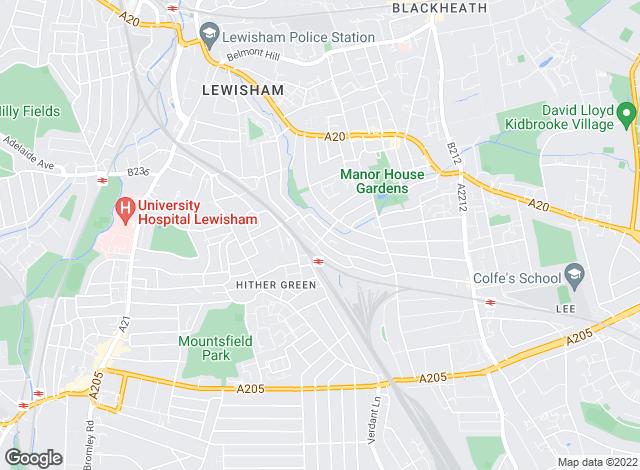 Map for Forbes & Sawyer Estate Agents, Lewisham