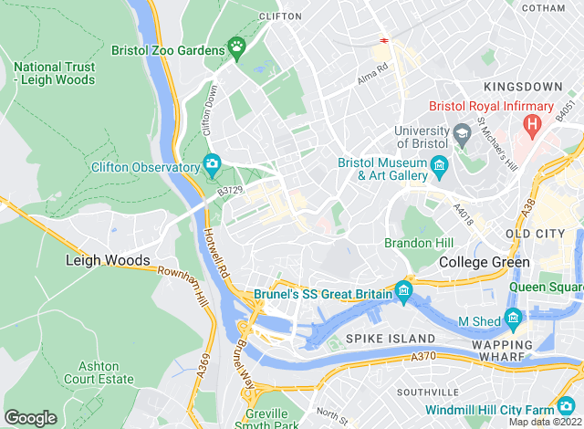 Map for Knight Frank, Bristol
