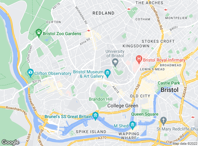 Map for Hamptons International Sales, Bristol