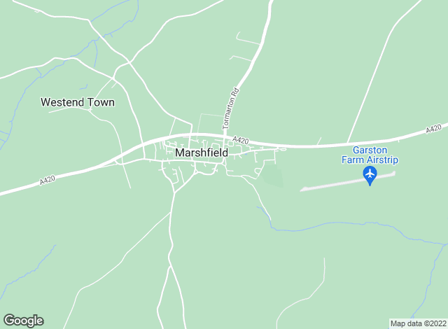 Map for DavisMeade, Marshfield