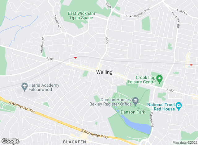 Map for Robinson Jackson, Welling - Lettings