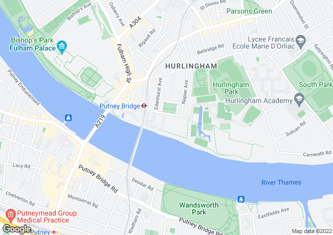 Map for Rivermead Court, Ranelagh Gardens, Fulham, London, SW6