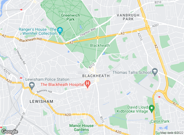 Map for Kershaws Ltd, Montpelier Vale