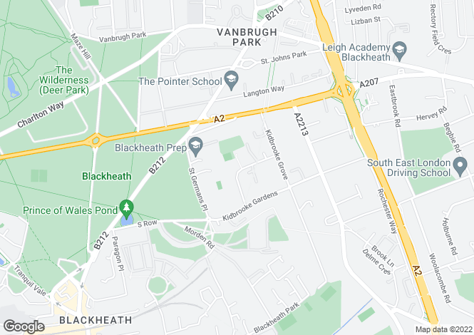 Map for Liskeard Villas, Blackheath, London, London, SE3 0PE