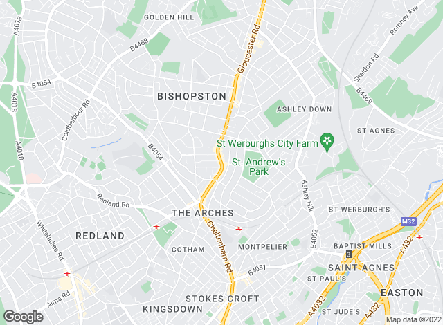 Map for Kendall Harper, Bishopston - Lettings