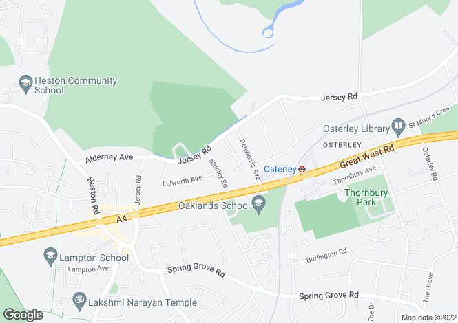 Map for Osterley