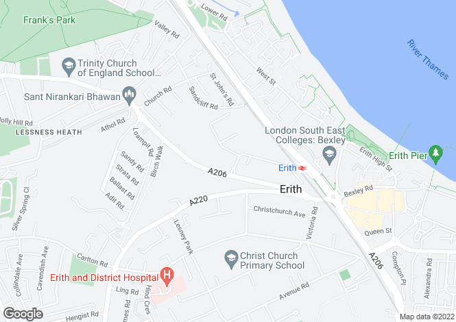 Map for Europa Trading Centre, Fraser Road, Erith