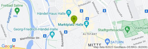 Standort StattReisen Halle