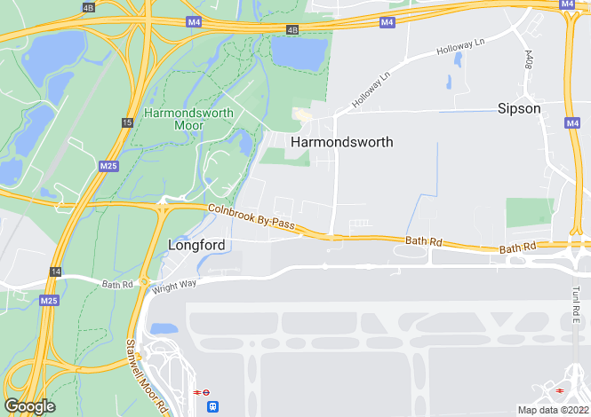 Map for Skyport Drive,