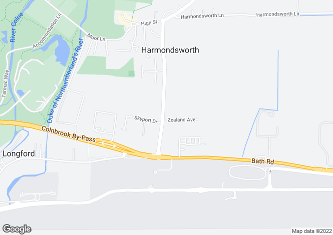 Map for Littlefield Court, Zealand Avenue, Harmondsworth