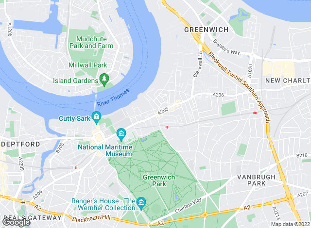 Map for I Am The Agent, Greenwich