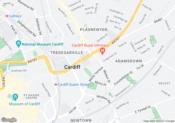 Map for Newport Road,