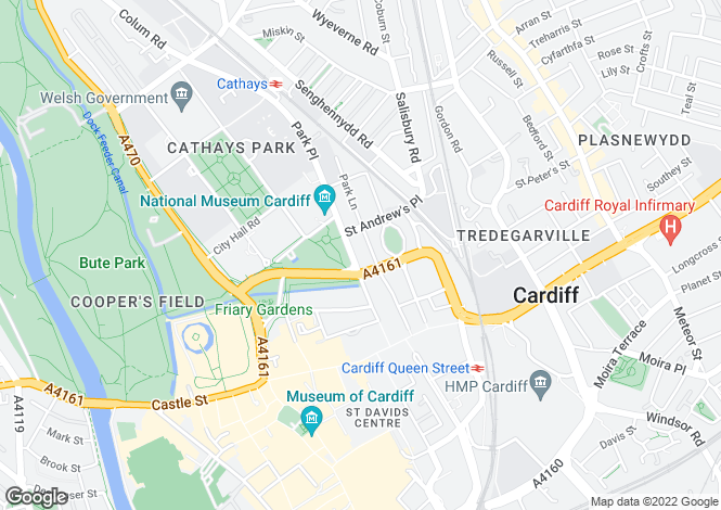 Map for Park Place,