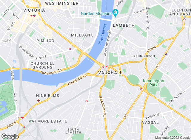 Map for Life Residential, Central London Branch - Lettings