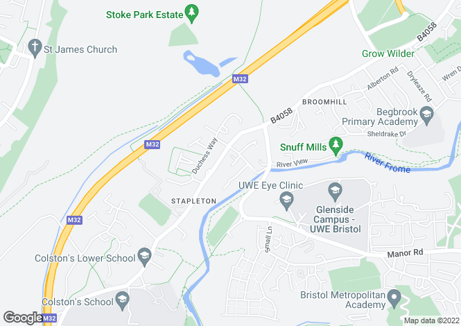 Map for Lynn Road, Stapleton, Bristol