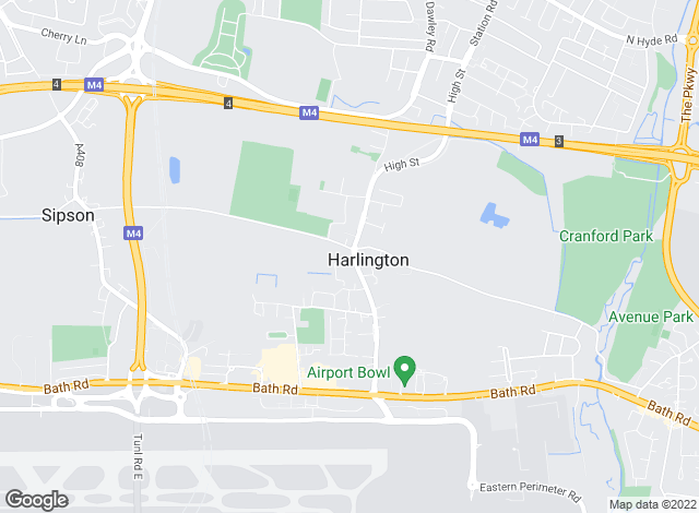 Map for Charrison Davis, Harlington