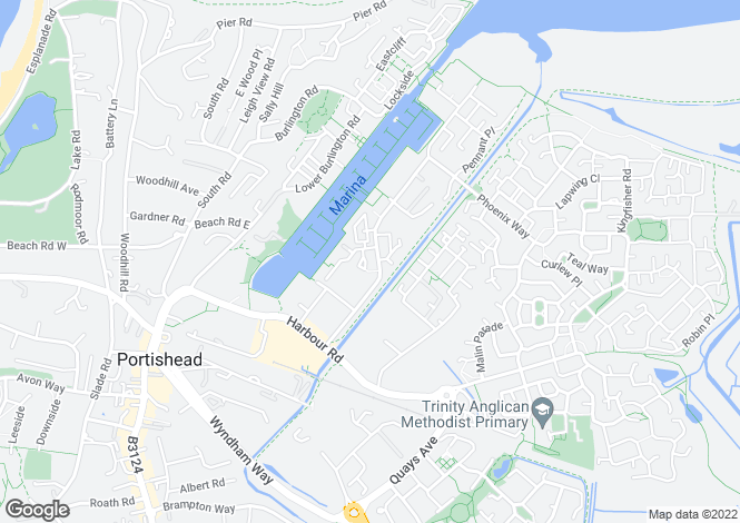 Map for Newfoundland Way, PORTISHEAD