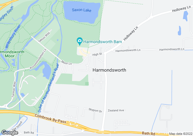 Map for Cambridge Close, Harmondsworth Village, West Drayton, Middlesex, UB7