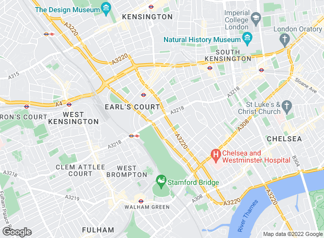 Map for YOUR MOVE - Bromptons, London
