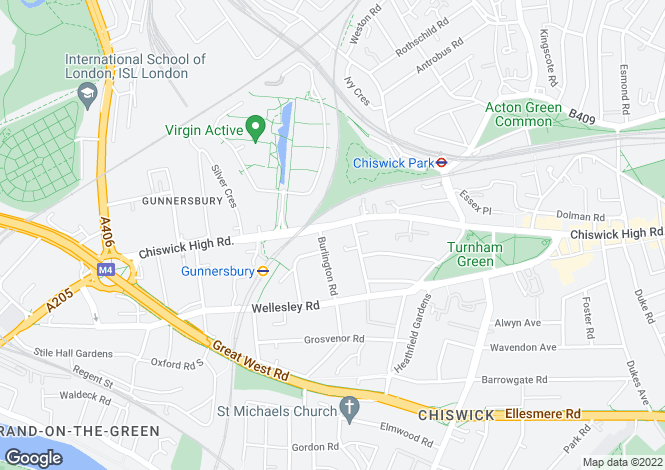 Map for Chiswick High Road