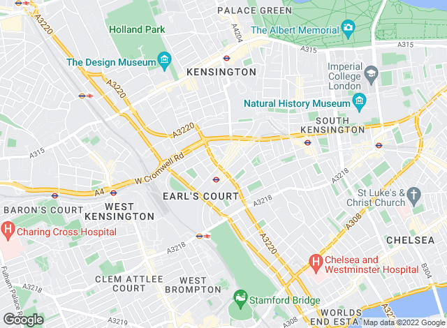 Map for tlc Estate Agents , Sales - Earls Court