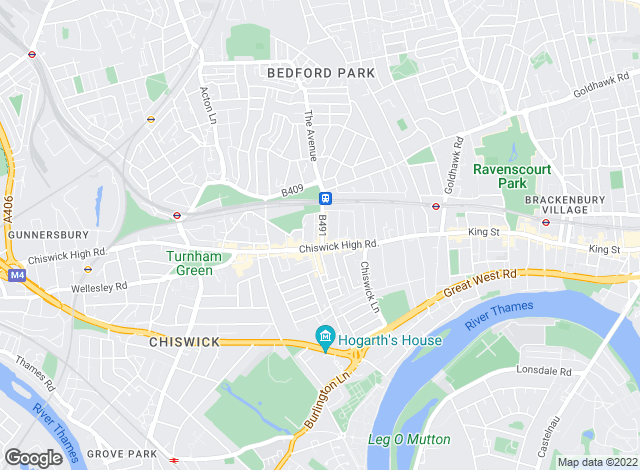 Map for Faron Sutaria Sales, Chiswick