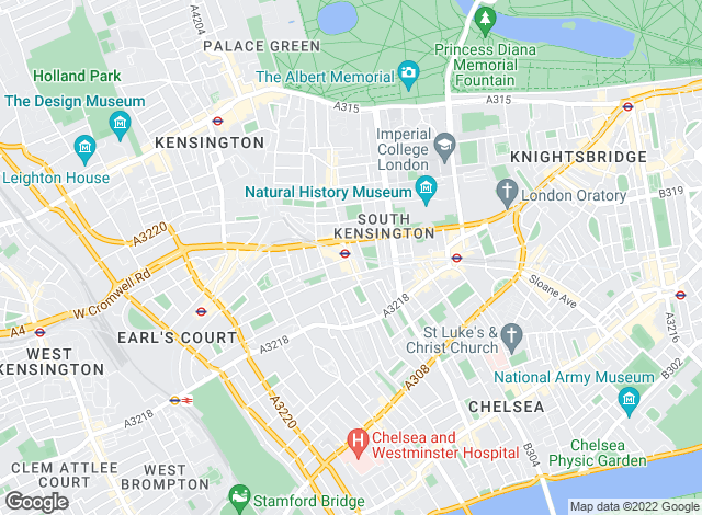 Map for Cameron Pearson, London