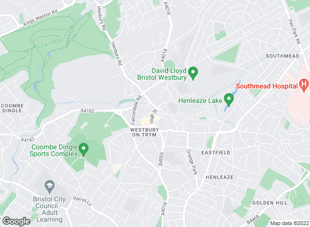 Map for Woods Estate Agents, Westbury-On-Trym