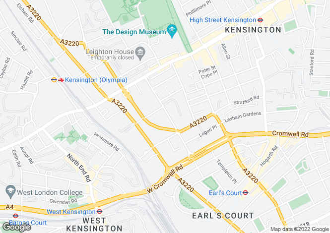 Map for Pembroke Gardens,
