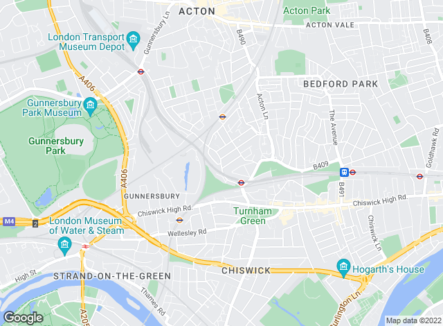 Map for West London Residential , Chiswick