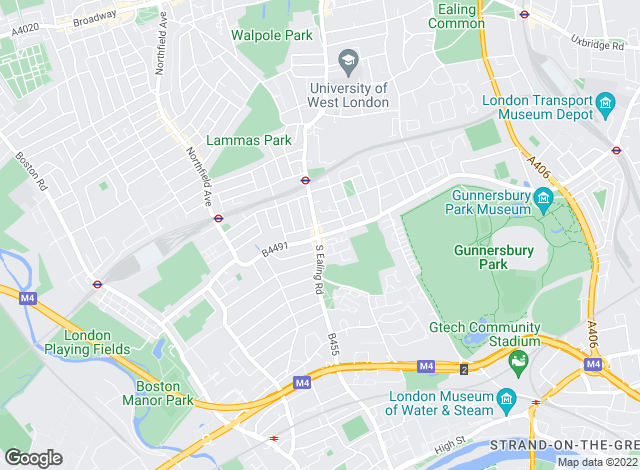 Map for DALINGTON Estate Agents, Ealing