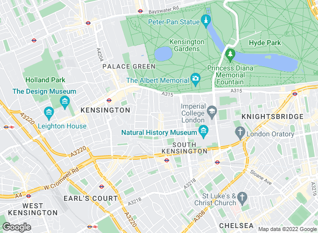 Map for Druce South Kensington Limited , London