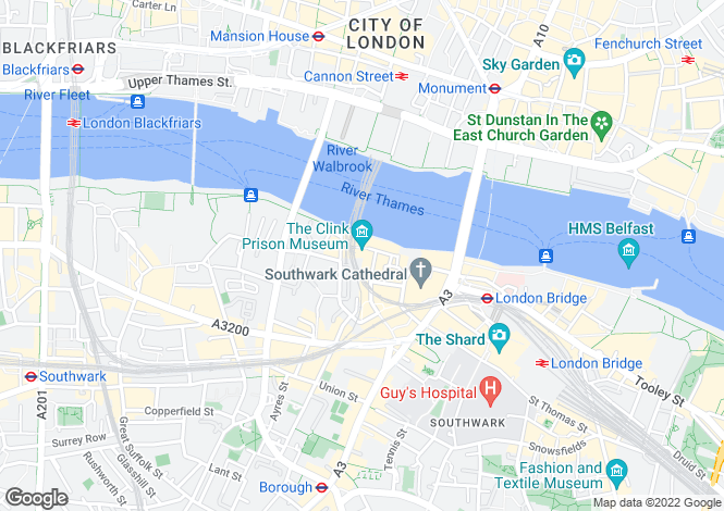 Map for Clink Wharf, Clink Street, Borough, London, SE1