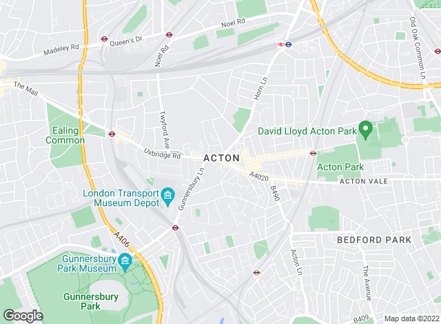 Map for Ashley Samuel , Acton