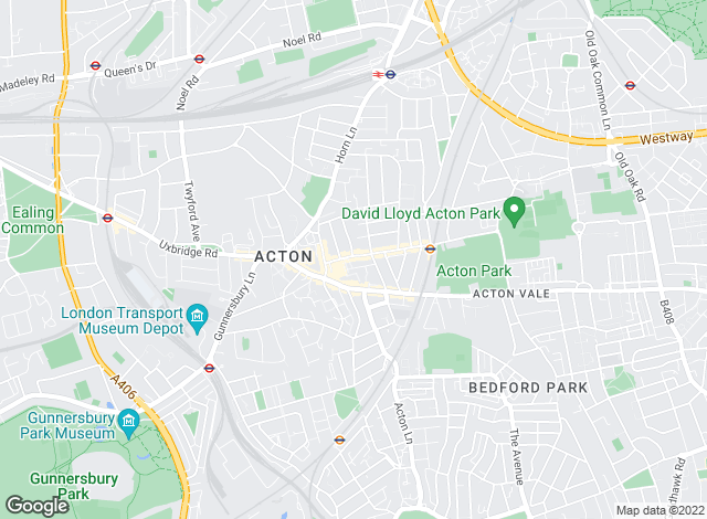 Map for Aston Rowe, Acton