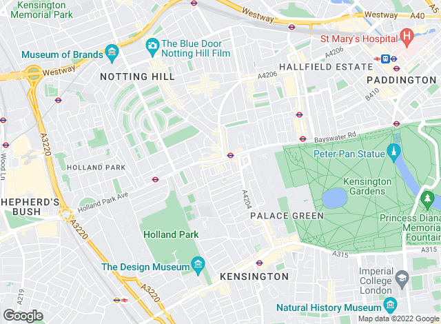 Map for Faron Sutaria Lettings, Notting Hill Gate