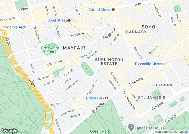 Map for Berkeley Square,