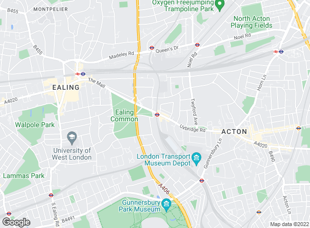 Map for Winkworth, Ealing