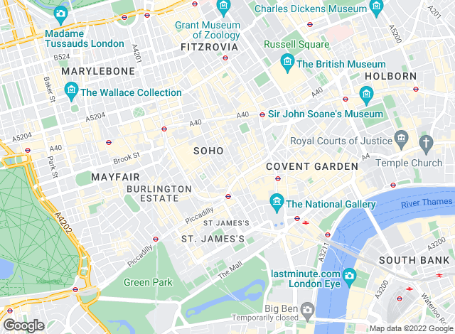 Map for Sancroft Management Ltd, London