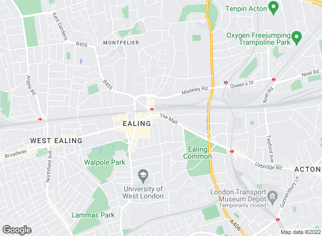 Map for Rolfe East, Ealing