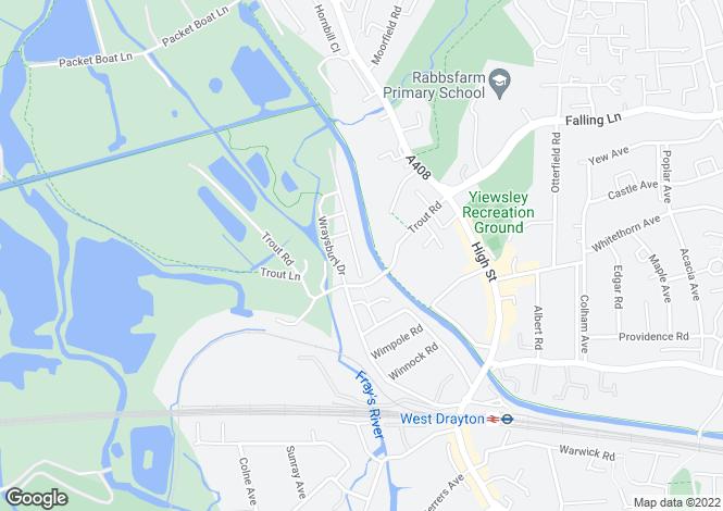 Map for Bittern House, Wraysbury Drive, West Drayton, UB7