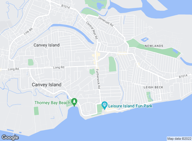 Map for Premier Estates, Canvey Island