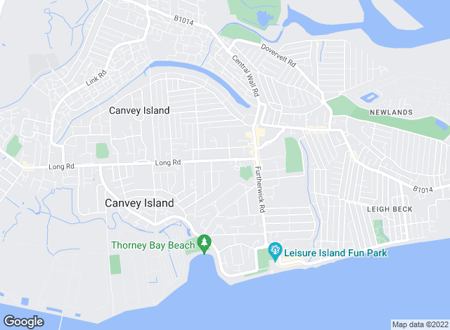 Map for Ranger Estates Ltd, Canvey Island