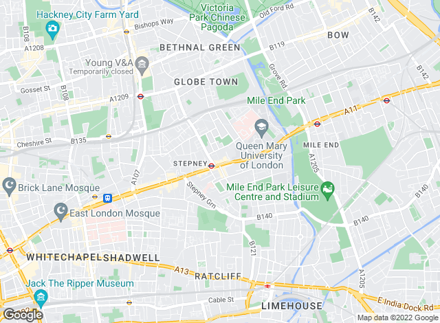Map for Relocators, London