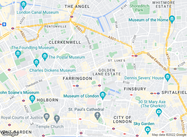 Map for Dwell Residential, London