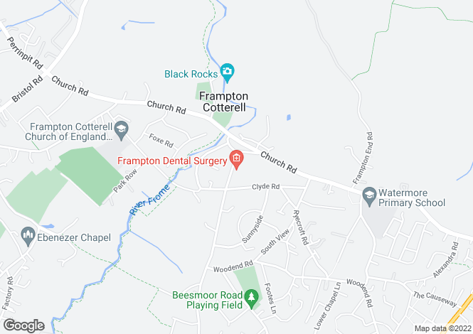 Map for Frampton Cotterell, Bristol