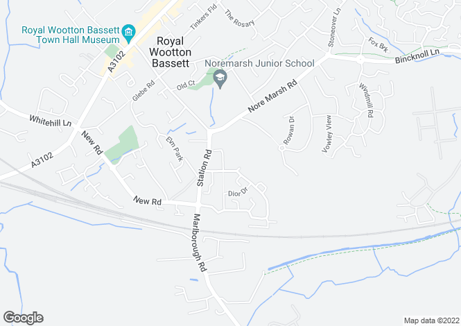 Map for Daisy Brook,
