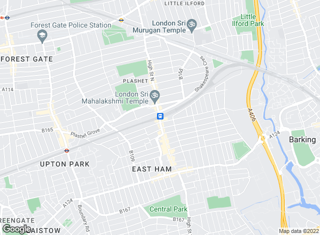 Map for Bairstow Eves, East Ham