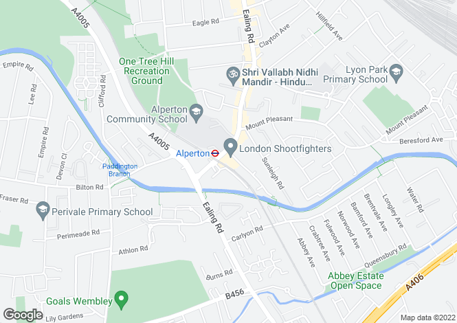 Map for RISE Apartments, Atlip Road, Wembley, Middlesex